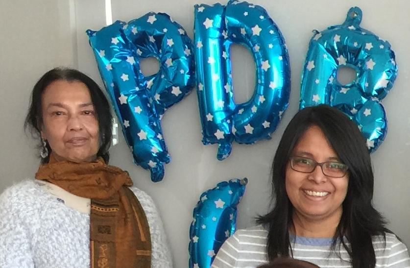 RCSB PDB Biocurators Dr. Sutapa Ghosh and Dr. Monica Sekharan