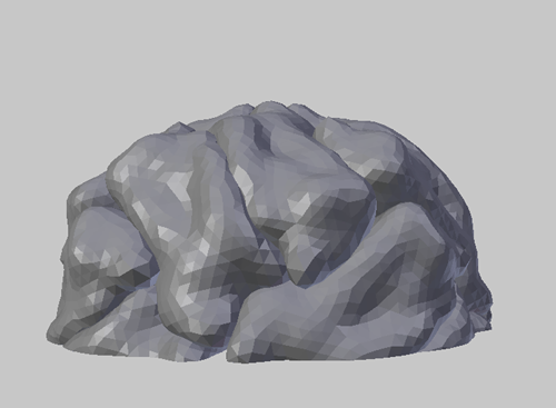Ferritin 3D model view
