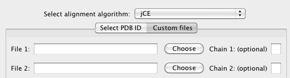 Align custom PDB files