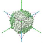 PDB ID: 1MOG tetrahedral symmetry T