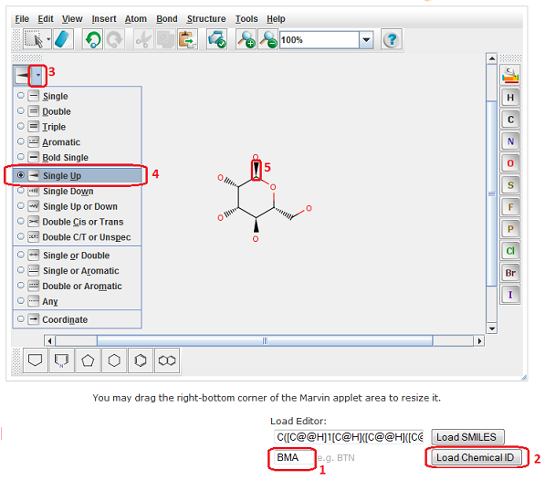 Load a PDB ligand in the editor
