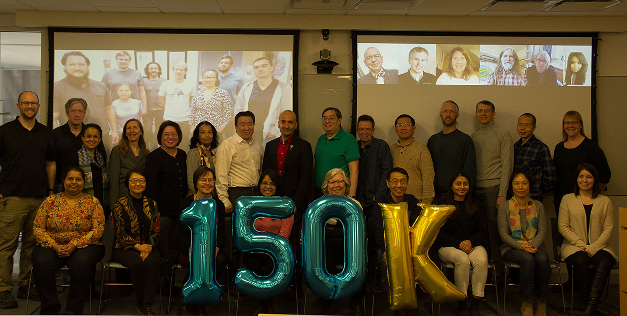 RCSB PDB, EMDR, and PDB-Dev members at Rutgers, UCSD, and UCSF