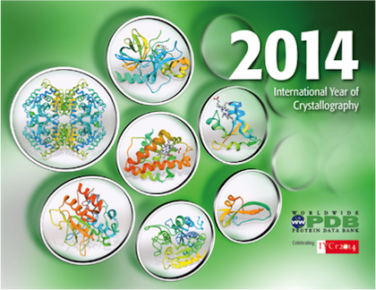 International Year of Crystallography Calendar